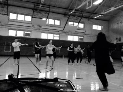 Another workshop, this one for the Denver Public School's Day of Dance with the spirited Shefali Shah teaching.